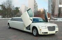 Лимузин Chrysler 300C Disco прокат аренда Киев цена