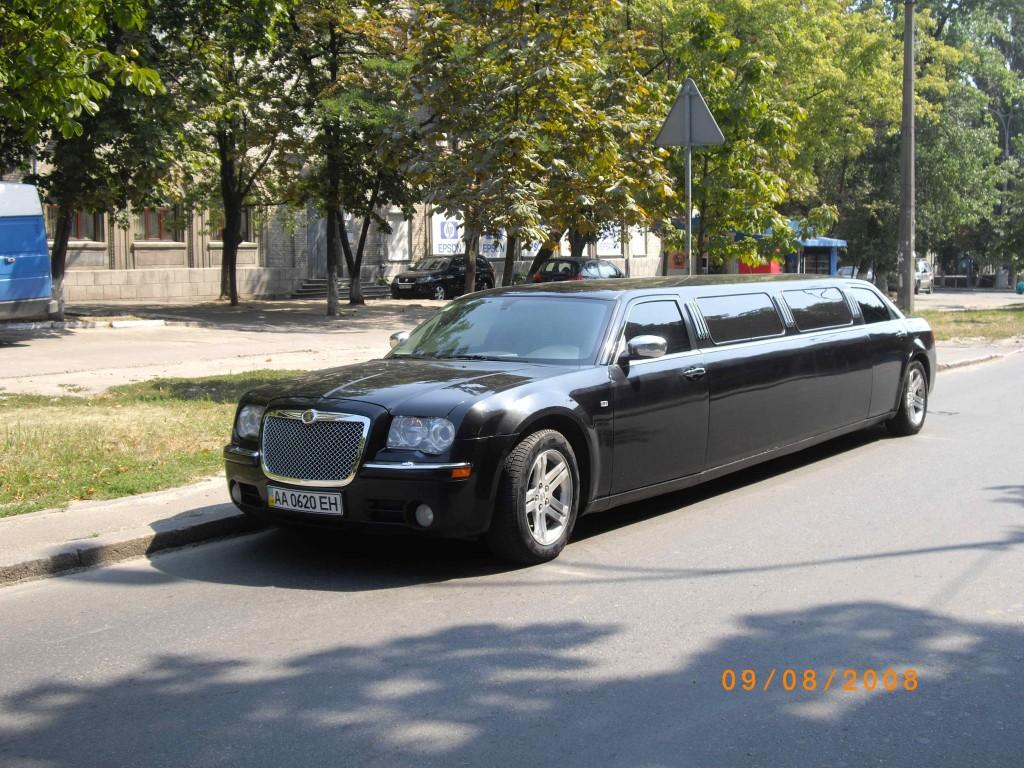 имузин Chrysler 300C Disco прокат аренда Киев цена