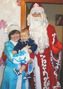 Заказать Деда Мороза на Новый Год