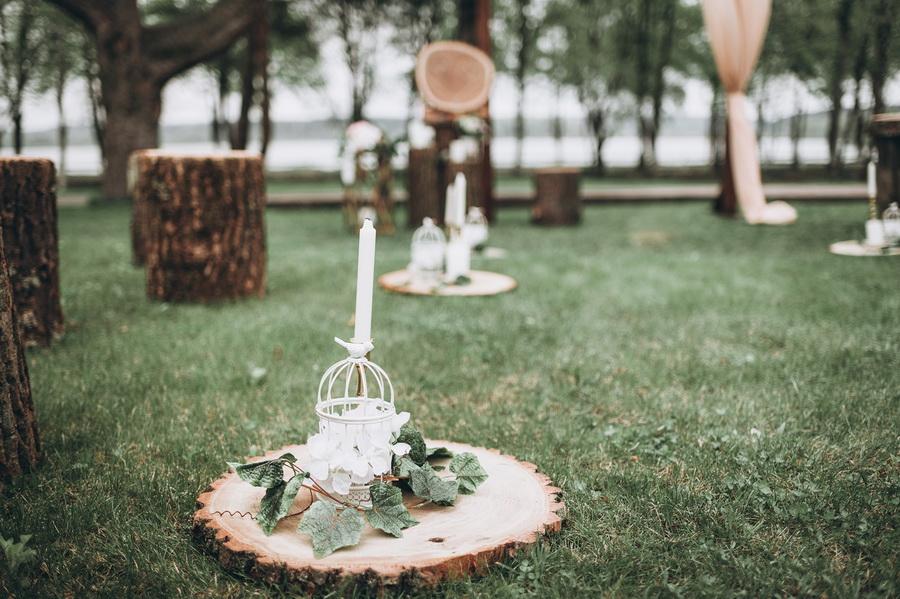 Свадебный декор в стиле рустик. Оформление свадеб в Киеве и области.
